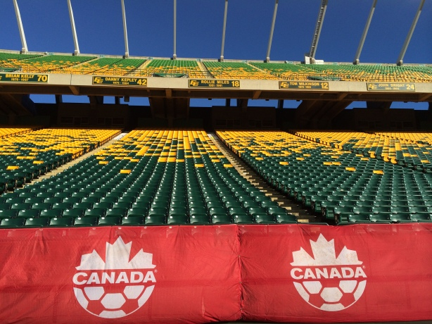 Commonwealth Stadium in Edmonton Alberta.