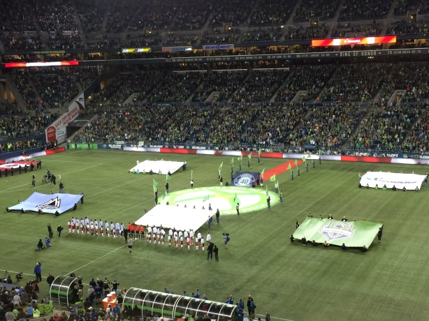 The Vancouver Whitecaps beat the Seattle Sounders 1-0 at CenturyLink Field.