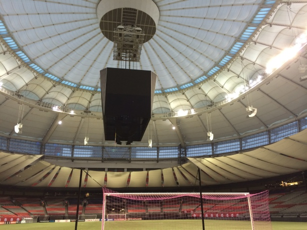 BC Place Stadium in Vancouver will host the 2015 FIFA World Cup Final on July 5.