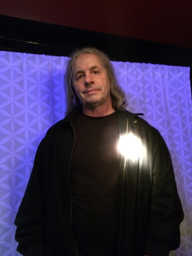 Bret Hart at the March for Dimes, Rock of Dimes event in Vancouver, B.C.  on February 26, 2015.