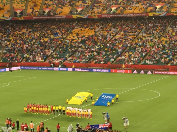 Canada and New Zealand played to a scoreless draw in Group A action at the World Cup on June 11.