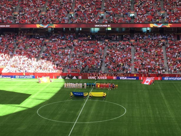 Canada defeated Switzerland 1-0 at BC Place in Vancouver to earn a trip to the quarter-finals of the World Cup.
