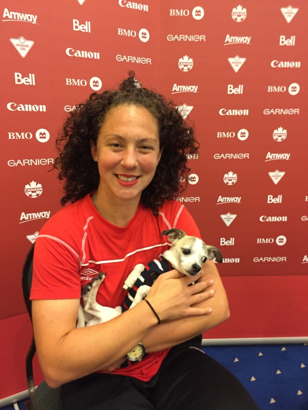 Carmelina Moscato of Team Canada.