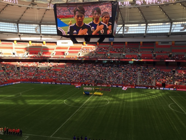 Japan defeated the Netherlands 2-1 at BC Place in Vancouver on Tuesday, June 23.