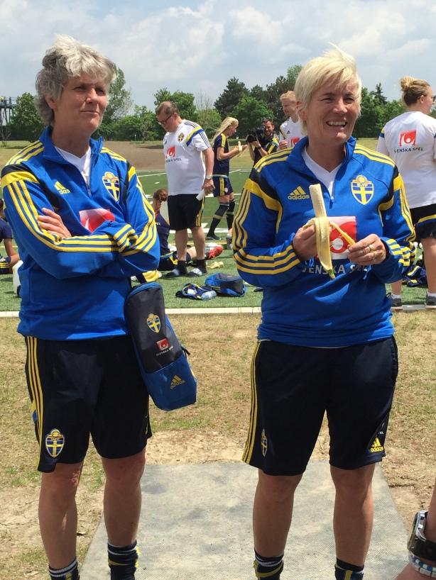 Sweden Coach Pia Sundhage