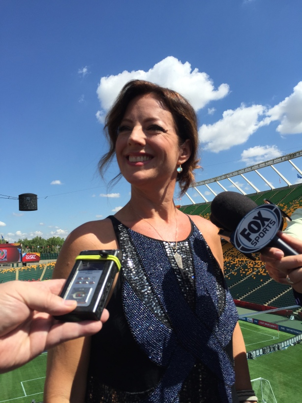 Sarah McLachlan will perform 'In Your Shoes' during the opening ceremonies of the 2015 FIFA Women's World Cup.