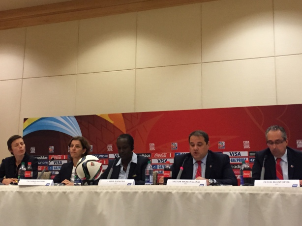 FIFA Women's World Cup closing Press Conference in Vancouver, B.C.