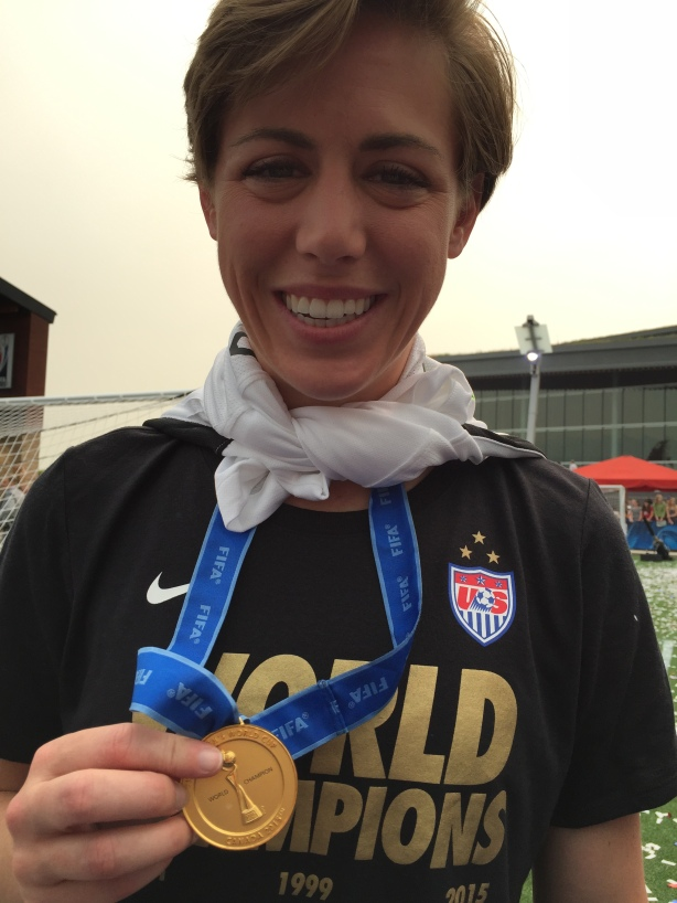 Team USA World Cup Champion Meghan Klingenberg