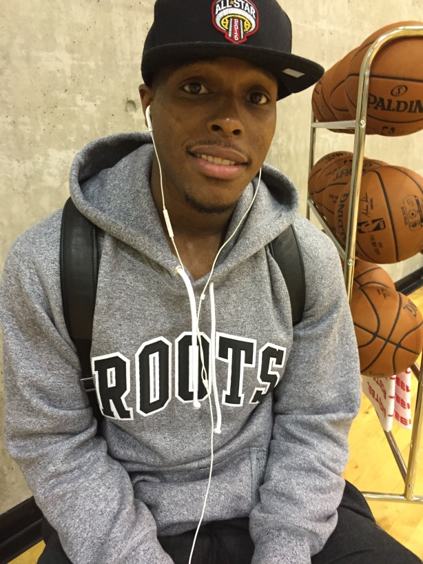 Toronto Raptors All-Star Point Guard Kyle Lowry in Vancouver, B.C.