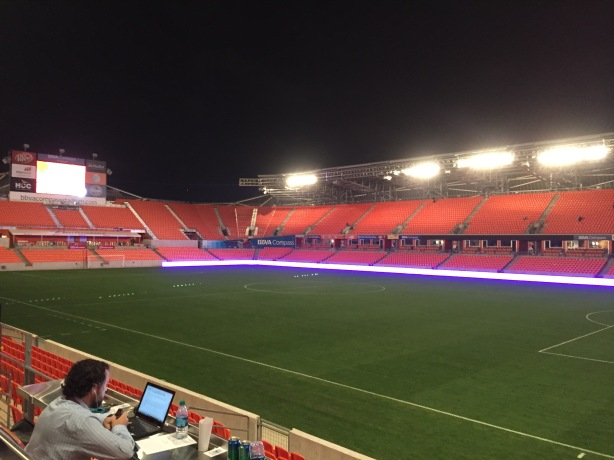 Canada fell 2-0 to the U.S. at BBVA Compass Stadium in the Rio Olympic Qualifying Final Match.