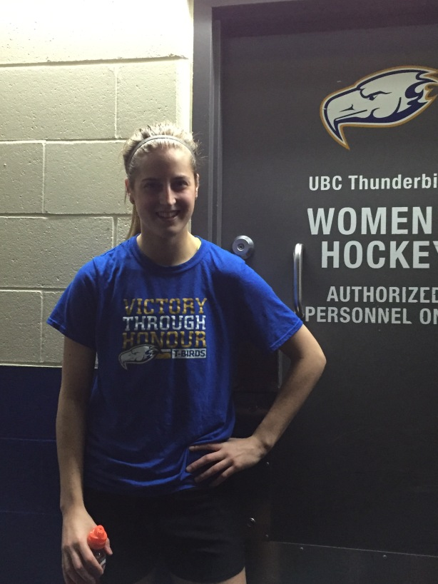 UBC Thunderbirds defender Kirsten Toth.