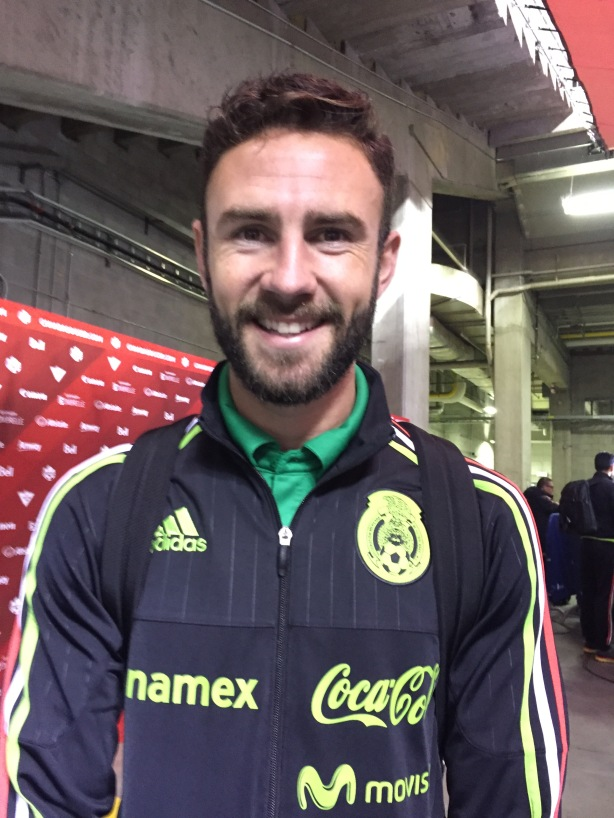 Mexico full-back Miguel Layun.
