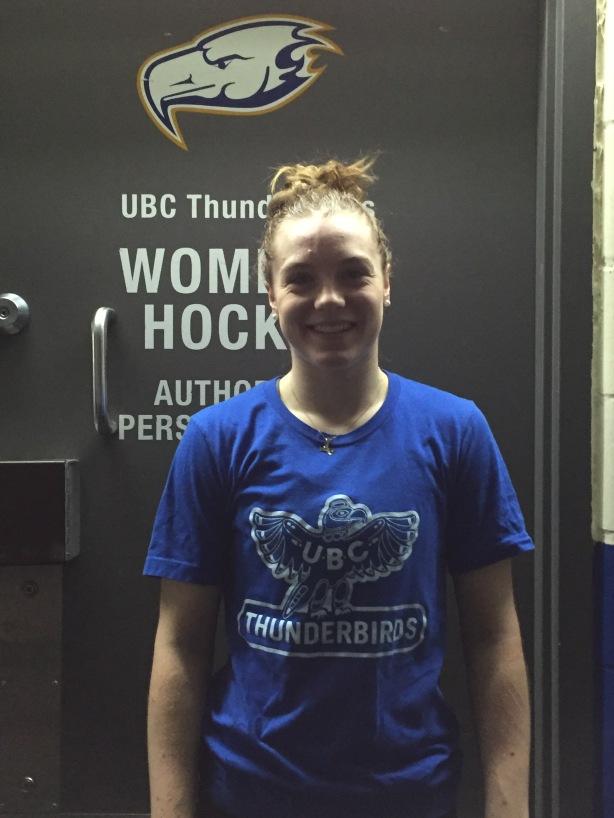 UBC Thunderbirds defender Mikayla Ogrodniczuk.