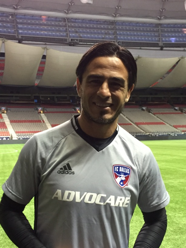 FC Dallas midfielder returns to BC Place to take on the Vancouver Whitecaps tonight.
