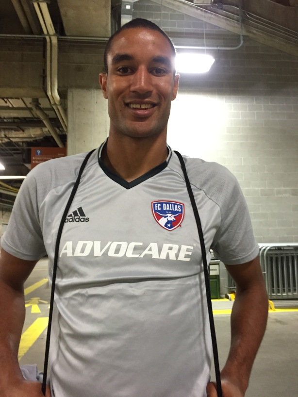 FC Dallas and Canadian Men's National Team Striker, Tesho Akindele.