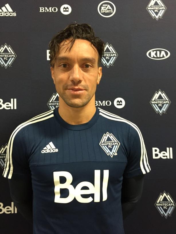 Vancouver Whitecaps midfielder Christian Bolanos.