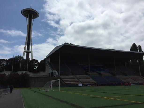 Seattle Reign FC vs Arsenal Ladies tonight at Memorial Stadium in Seattle.
