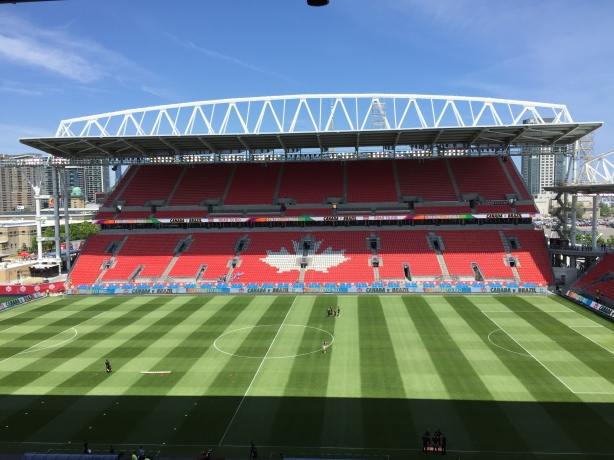 Brazil defeated Canada 2-0 at BMO Field in Toronto.