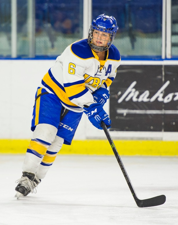 UBC Thunderbirds forward, Nicole Saxvik. (Rich Lam/UBC Athletics Photo)