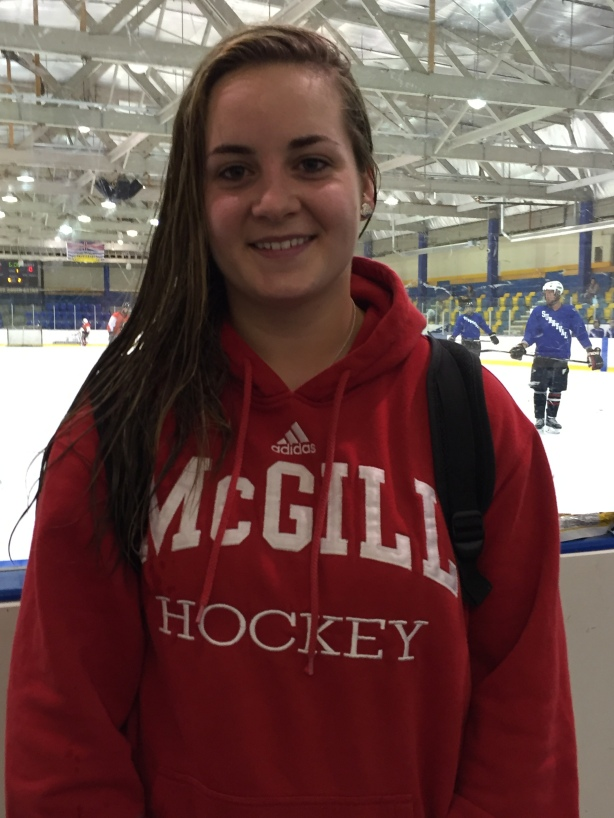 McGill Martlets forward Marie-Philip Lavoie