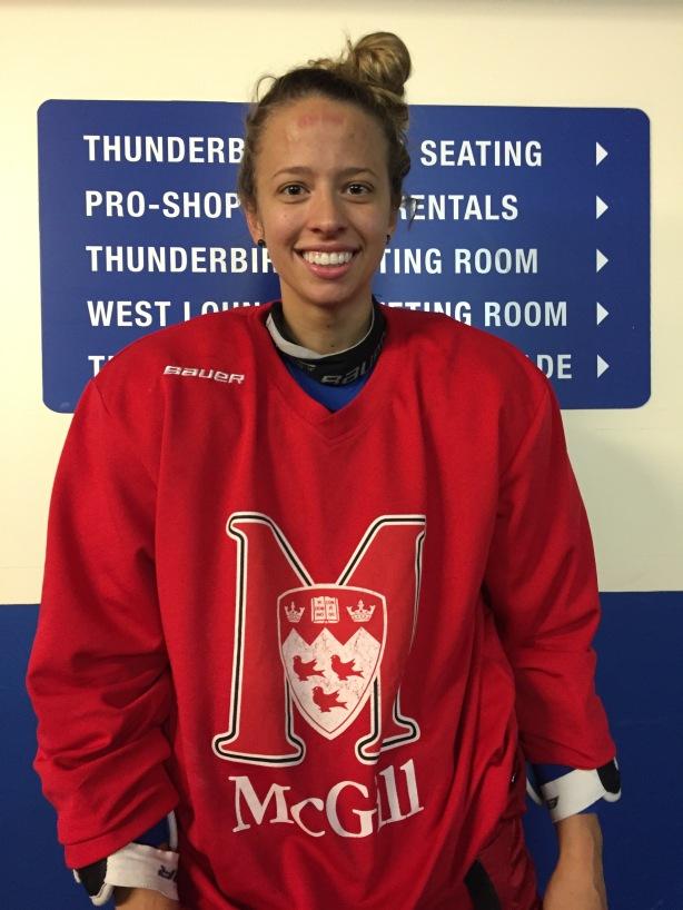 McGill Martlets forward Jade Downie.