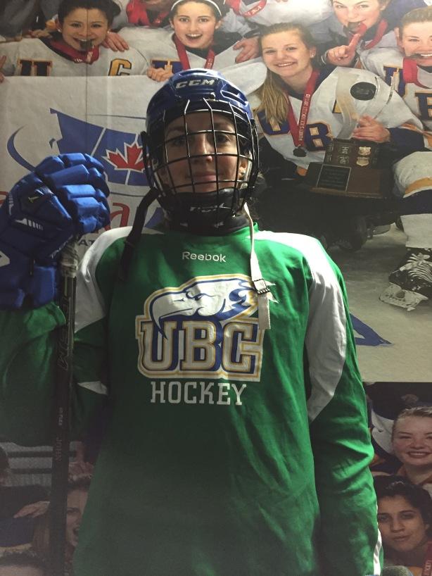 UBC Thunderbirds forward, Jenna Carpenter-Boesch following practice on Wednesday, November 16.
