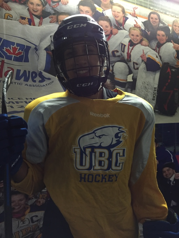 UBC Thunderbirds forward Haneet Parhar following practice on Wednesday, November 10.