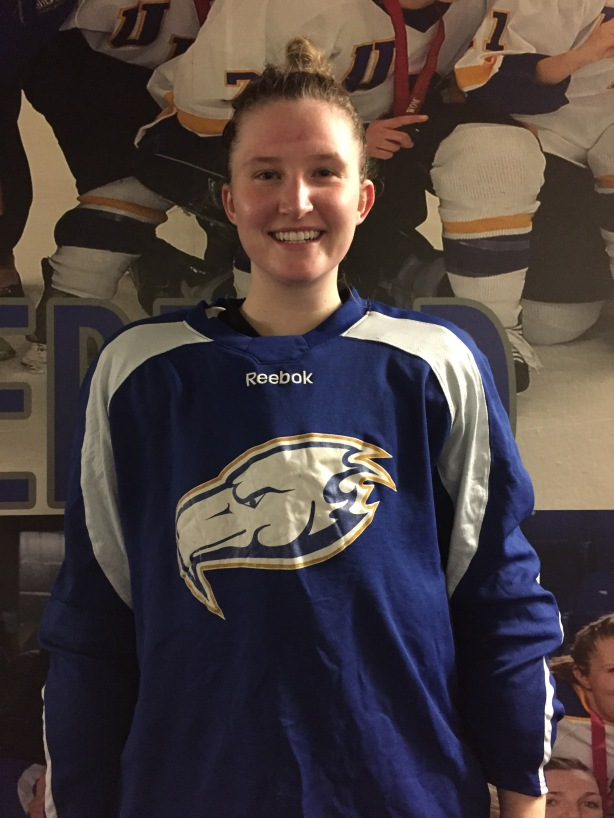 UBC Thunderbirds Mairead Bast following practice on Thursday, December 8.
