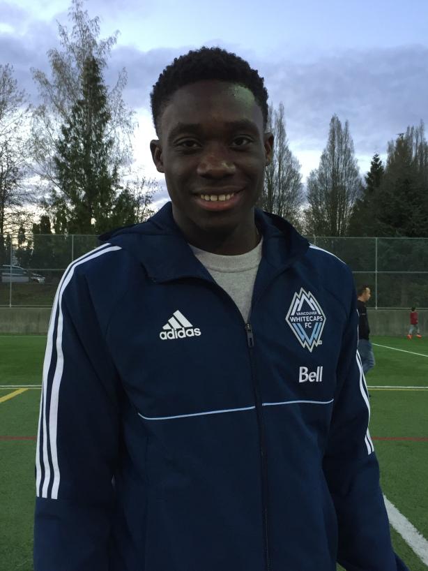 Alphonso Davies Vancouver Whitecaps FC