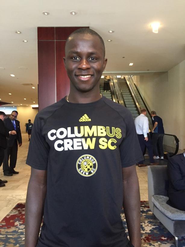 Columbus Crew SC Kekuta Manneh