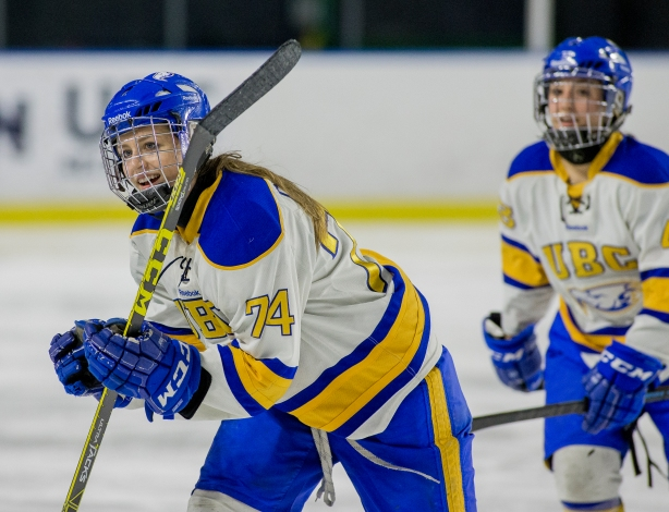 Canada West Ice Hockey (CIS): Women -  UBC Thunderbirds host Regina